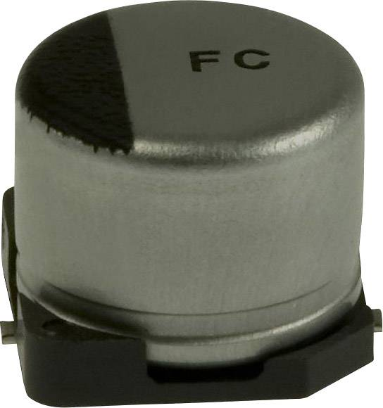 Elektrolytický kondenzátor Panasonic EEE-FC0J101P, SMD, 100 µF, 6.3 V, 20 %, 1 ks