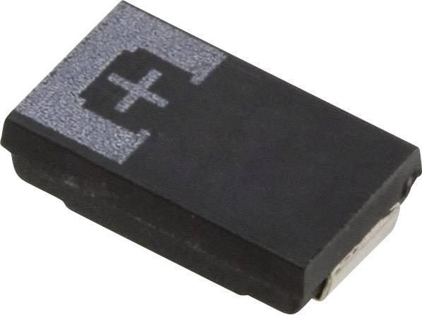 Tantalový kondenzátor Panasonic 6TPE100M, SMD 100 µF, 6.3 V, (d x š x v) 7.3 x 4.3 x 1.8 mm, 1 ks
