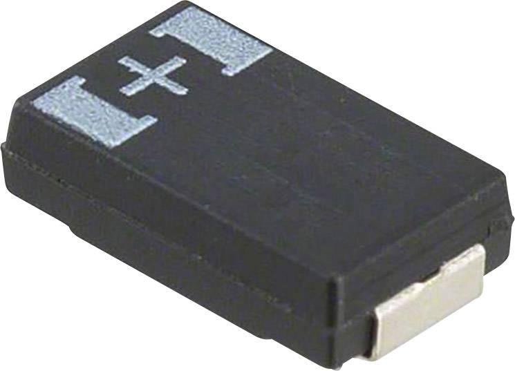 Tantalový kondenzátor Panasonic 6TPF220M5L, SMD 220 µF, 6.3 V, (d x š x v) 7.30 x 4.30 x 3 mm, 1 ks