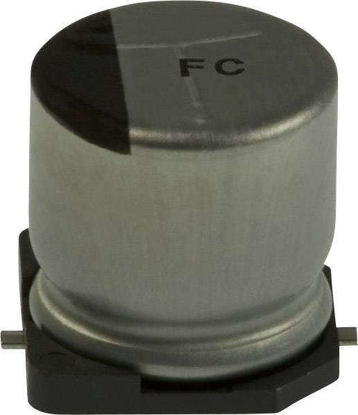 Elektrolytický kondenzátor Panasonic EEE-FC1V221AP, SMD, 220 µF, 35 V, 20 %, 1 ks