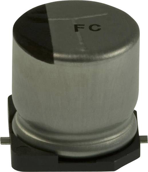 Elektrolytický kondenzátor Panasonic EEV-FC1E331P, SMD, 330 µF, 25 V, 20 %, 1 ks