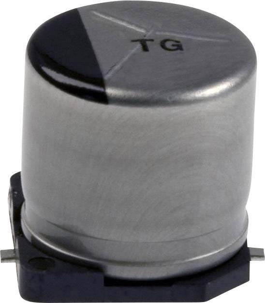 Elektrolytický kondenzátor Panasonic EEV-TG1C221P, SMD, 220 µF, 16 V, 20 %, 1 ks