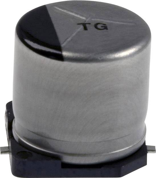 Elektrolytický kondenzátor Panasonic EEV-TG1C331UP, SMD, 330 µF, 16 V, 20 %, 1 ks