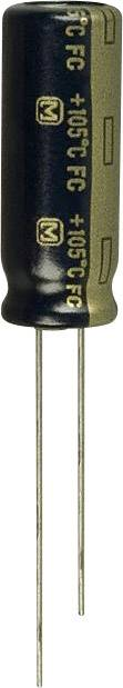 Elektrolytický kondenzátor Panasonic EEU-FC1V331L, radiálne vývody, 330 µF, 35 V, 20 %, 1 ks