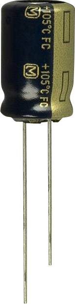 Elektrolytický kondenzátor Panasonic EEU-FC0J122, radiálne vývody, 1200 µF, 6.3 V, 20 %, 1 ks