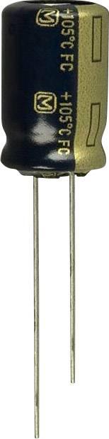 Elektrolytický kondenzátor Panasonic EEU-FC1J121, radiálne vývody, 120 µF, 63 V, 20 %, 1 ks