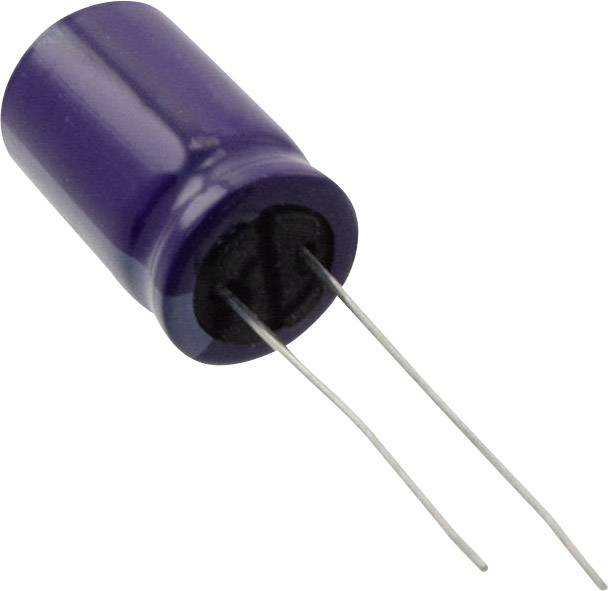 Elektrolytický kondenzátor Panasonic ECA-2CM101, radiálne vývody, 100 µF, 160 V, 20 %, 1 ks