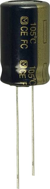 Elektrolytický kondenzátor Panasonic EEU-FC1H391, radiálne vývody, 390 µF, 50 V, 20 %, 1 ks