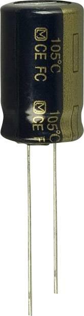 Elektrolytický kondenzátor Panasonic EEU-FC1J221S, radiálne vývody, 220 µF, 63 V, 20 %, 1 ks
