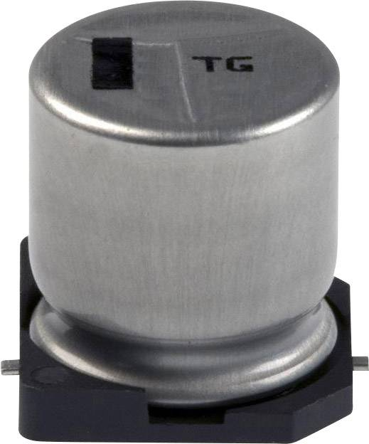 Elektrolytický kondenzátor Panasonic EEV-TG1C331Q, SMD, 330 µF, 16 V, 20 %, 1 ks