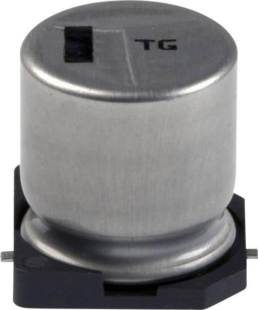 Elektrolytický kondenzátor Panasonic EEV-TG1J221Q, SMD, 220 µF, 63 V, 20 %, 1 ks