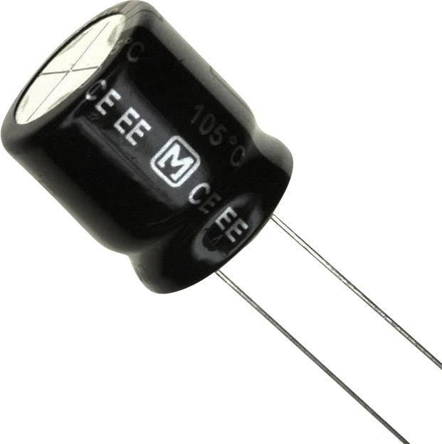 Elektrolytický kondenzátor Panasonic EEU-EE2G820, 7.5 mm, 82 µF, 400 V, 20 %, 1 ks