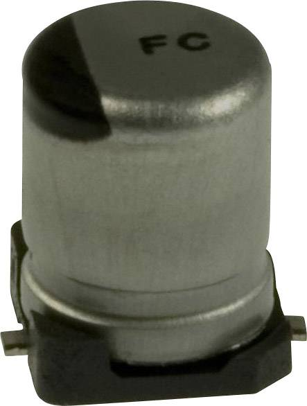Elektrolytický kondenzátor Panasonic EEE-FC1C100R, SMD, 10 µF, 16 V, 20 %, 1 ks