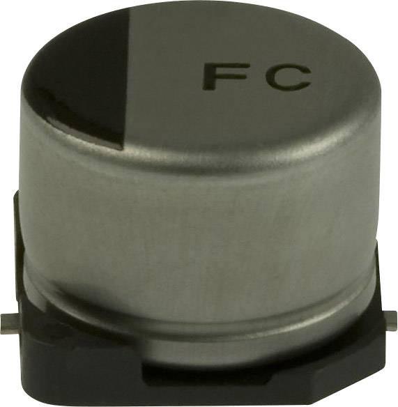 Elektrolytický kondenzátor Panasonic EEE-FC0J221AP, SMD, 220 µF, 6.3 V, 20 %, 1 ks
