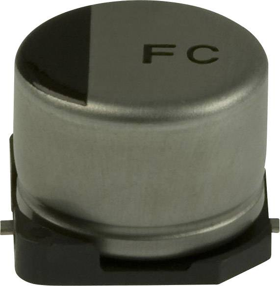 Elektrolytický kondenzátor Panasonic EEV-FC1C680P, SMD, 68 µF, 16 V, 20 %, 1 ks