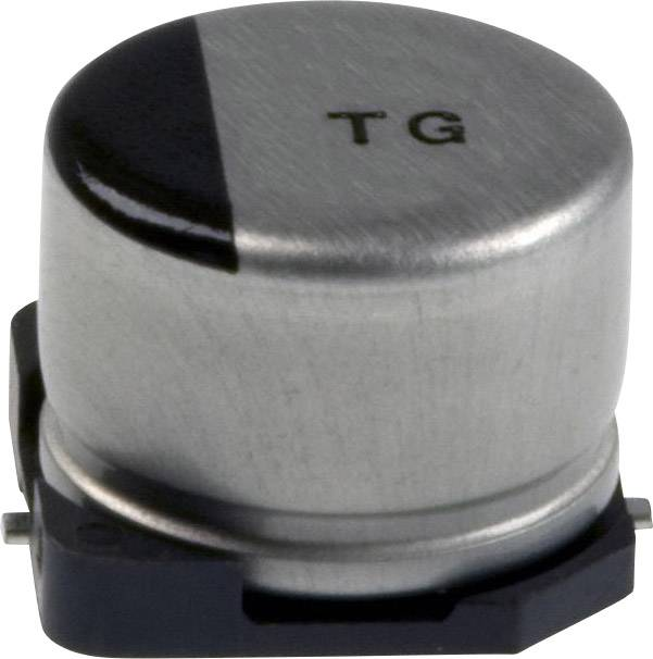 Elektrolytický kondenzátor Panasonic EEE-TG1A221UP, SMD, 220 µF, 10 V, 20 %, 1 ks