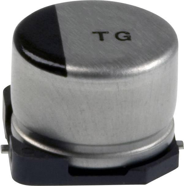 Elektrolytický kondenzátor Panasonic EEV-TG1J100P, SMD, 10 µF, 63 V, 20 %, 1 ks