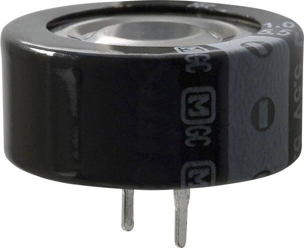 Superkondenzátor (Super Cap) Panasonic EEC-F5R5H105, 1 F, 5.5 V, 20 %, (Ø) 21.5 mm, 1 ks