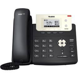 Šnúrový telefón, VoIP Yealink SIP-T21P konektor na slúchadlá, handsfree farebný-TFT/LCD čierna