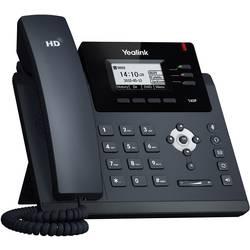 Šnúrový telefón, VoIP Yealink SIP-T40P konektor na slúchadlá, handsfree farebný-TFT/LCD čierna