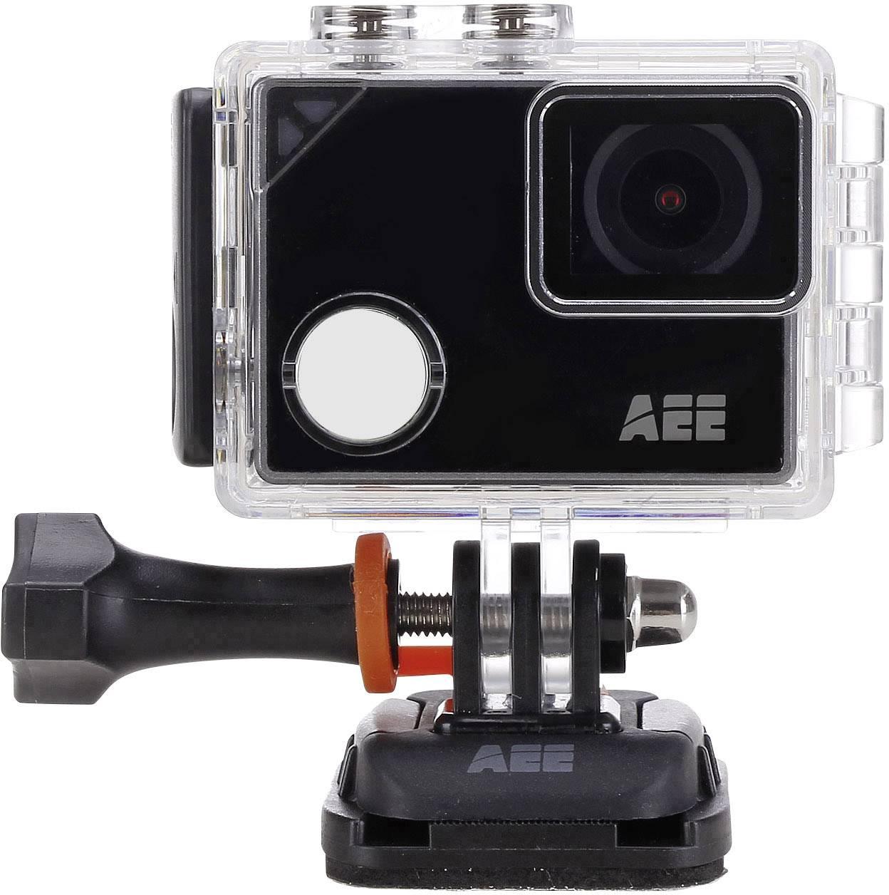 Sportovní outdoorová kamera AEE Lyfe Silver 4K (Ultra HD), Wi-Fi, dotyková obrazovka