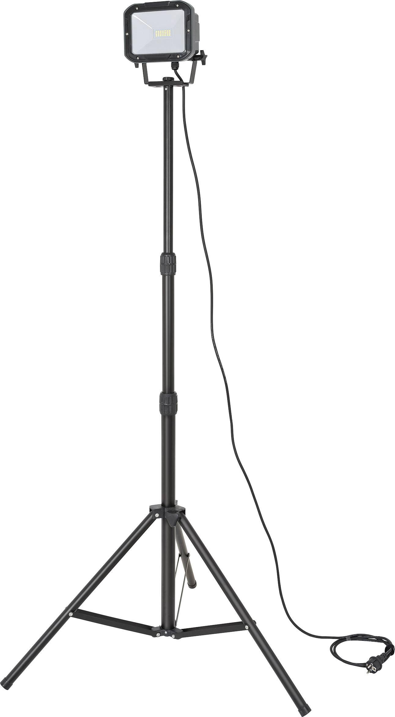 SMD LED stavebný reflektor Brennenstuhl SL DN 2806 S 1175600, 20 W, čierna