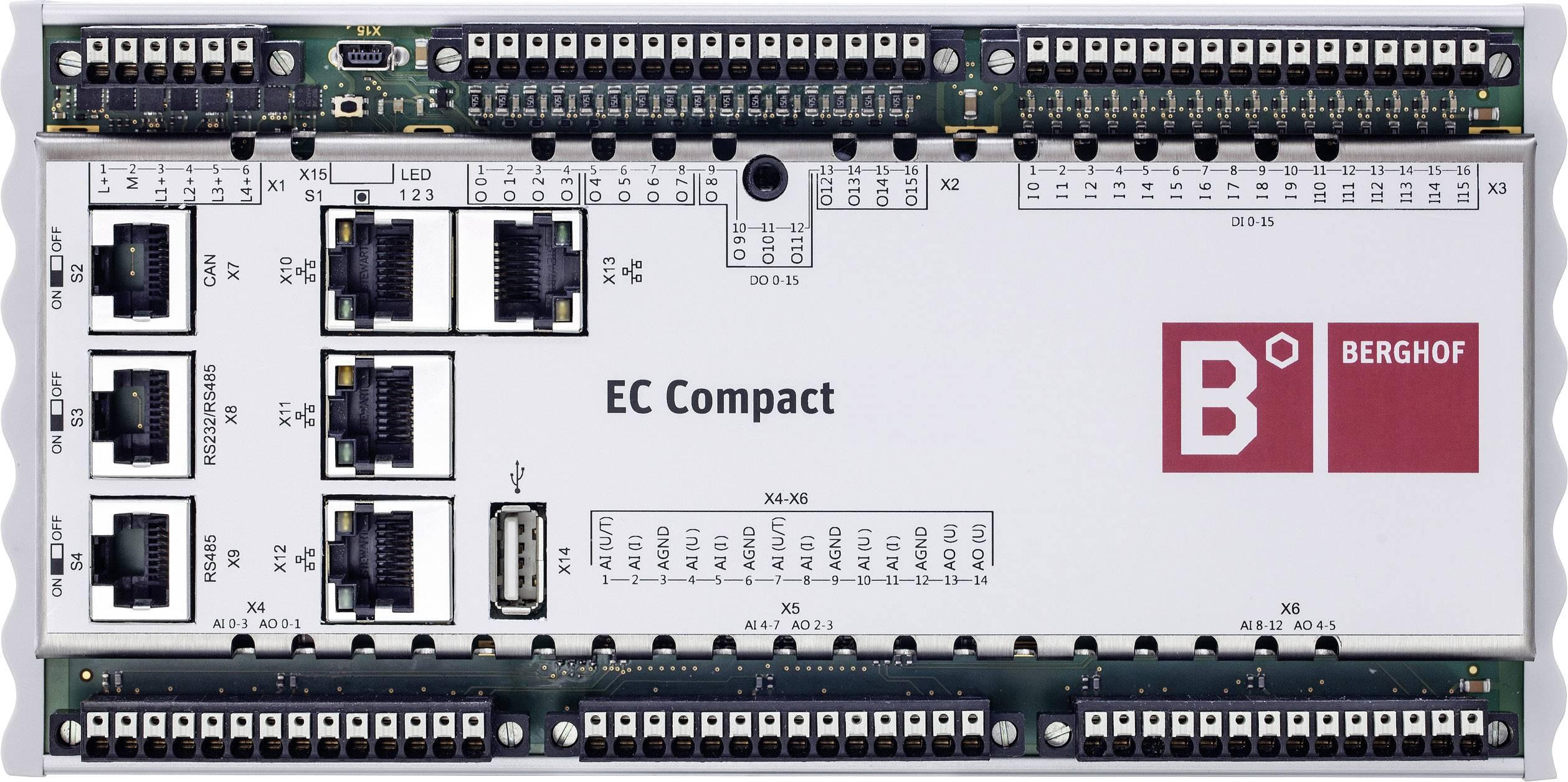 PLC řídicí modul Berghof ECC2200 S 16/16 250000000 24 V/DC