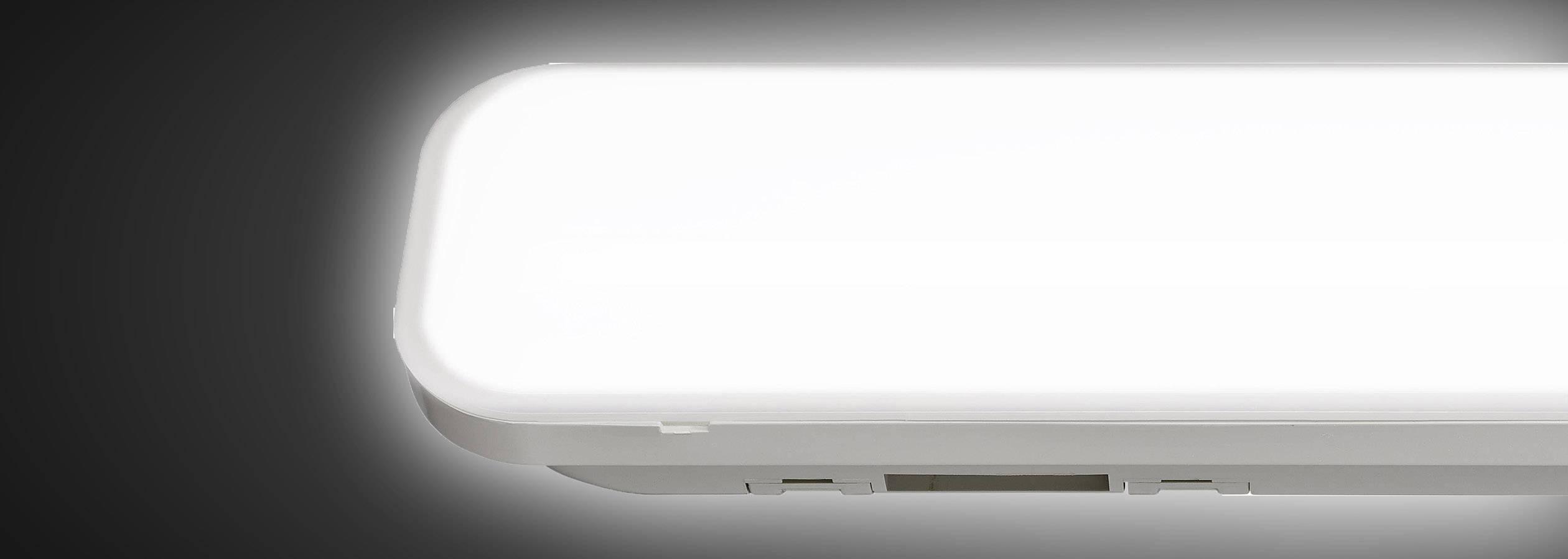 LED osvetlenie do vlhkého prostredia Renkforce 1483723 24 W neutrálne biela biela