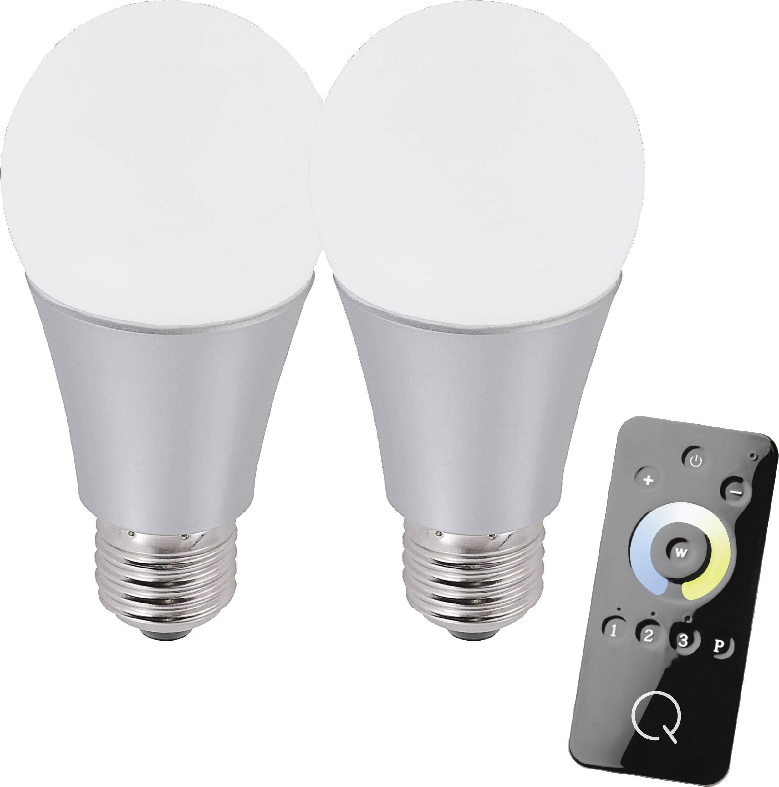 Štartovacia sada osvetlenia Paul Neuhaus Q®;Q®, E27, 8.5 W, teplá biela, neutrálne biela, chladná biela