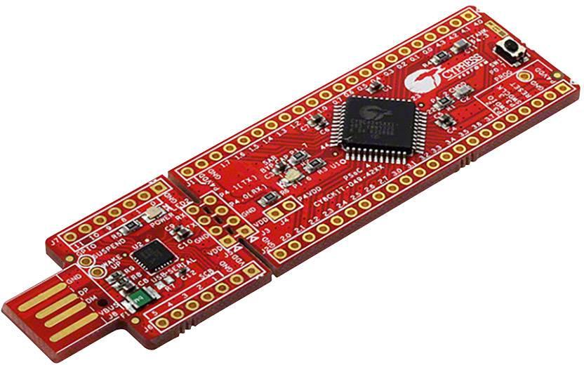 3D experimentální stavebnice LED kostky Cypress Semiconductor CY8CKIT-049-42XX