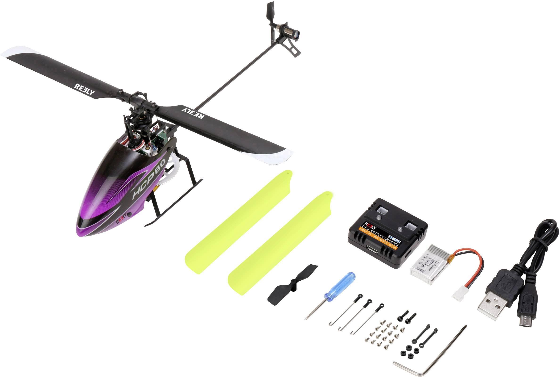 RC vrtuľník Reely HCP80 3D, RtF