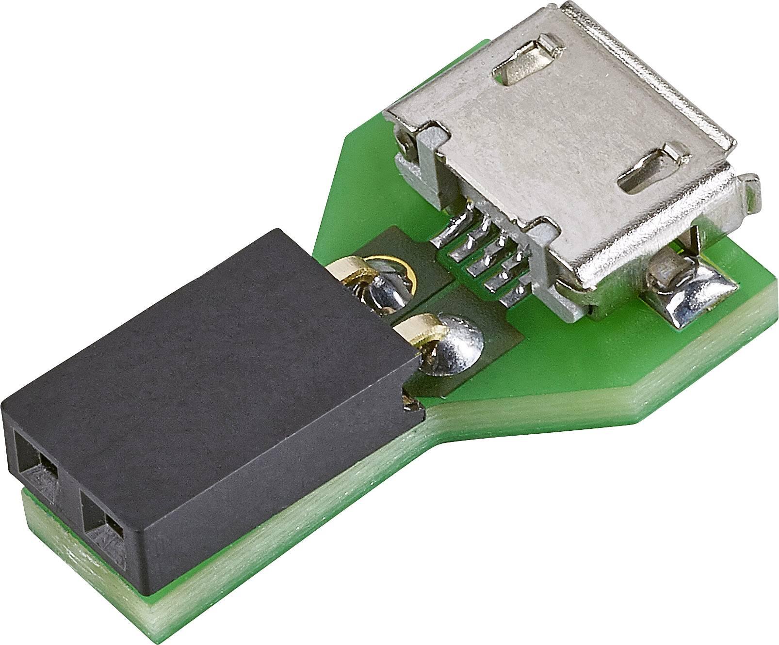 USB adaptérová doštička pre LED pásik Conrad Components 5 V