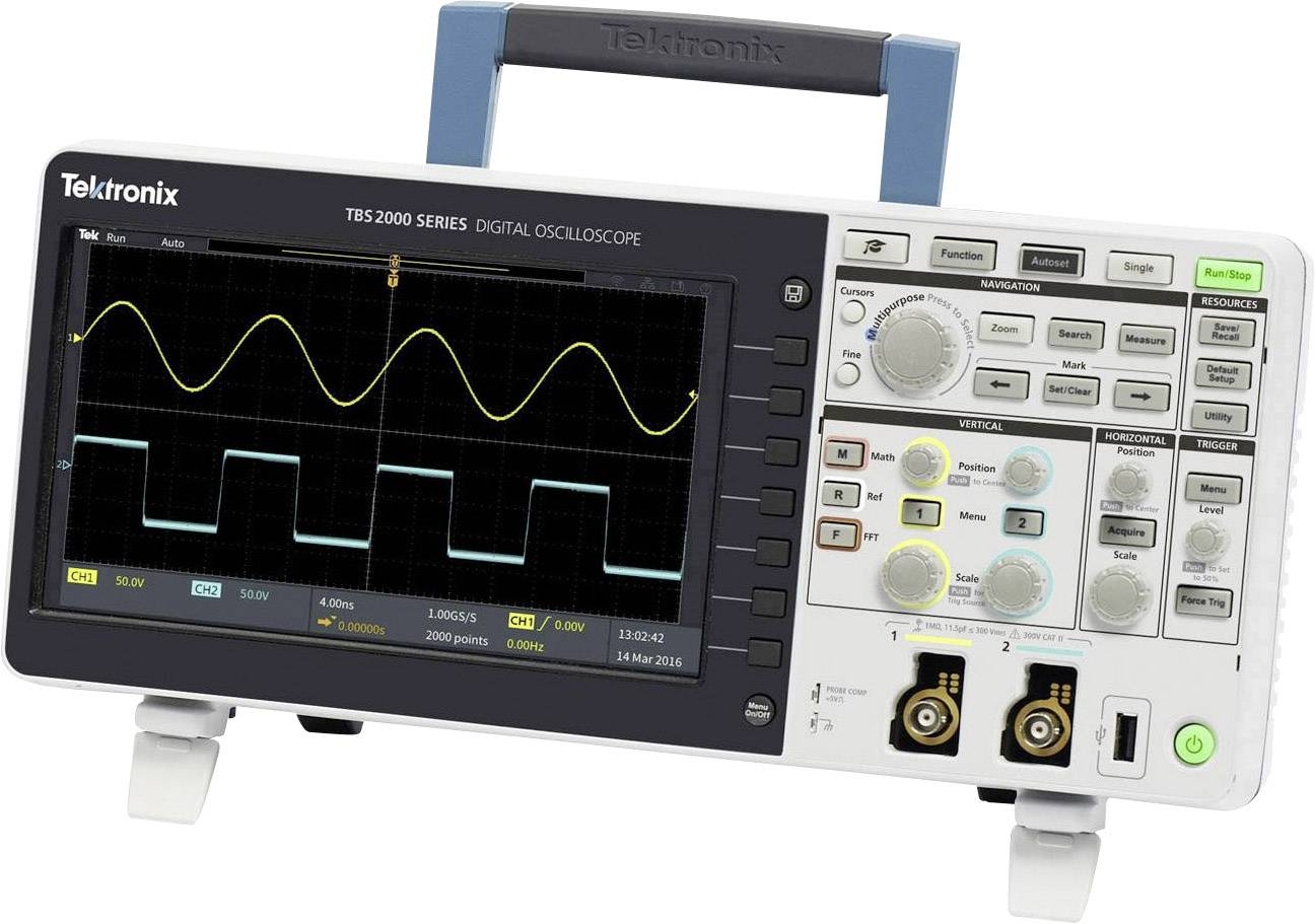 Digitální osciloskop Tektronix TBS2072, 70 MHz, Kalibrováno dle ISO