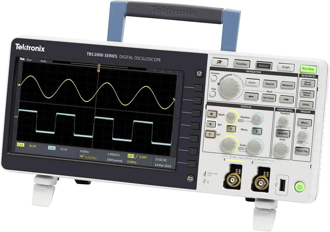 Digitální osciloskop Tektronix TBS2102, 100 MHz, Kalibrováno dle ISO