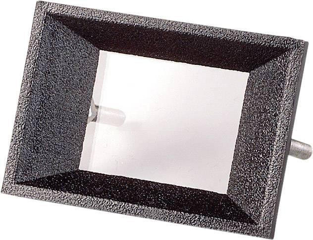 Predný rámček Strapubox AR 2, vhodný pro LCD displej 2-miestny, čierna, ABS