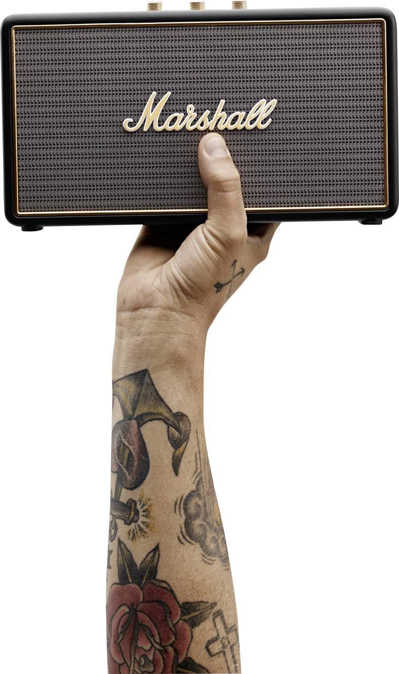 Bluetooth® reproduktor Marshall Stockwell hlasitý odposlech (mikrofon pro telefonování) černá
