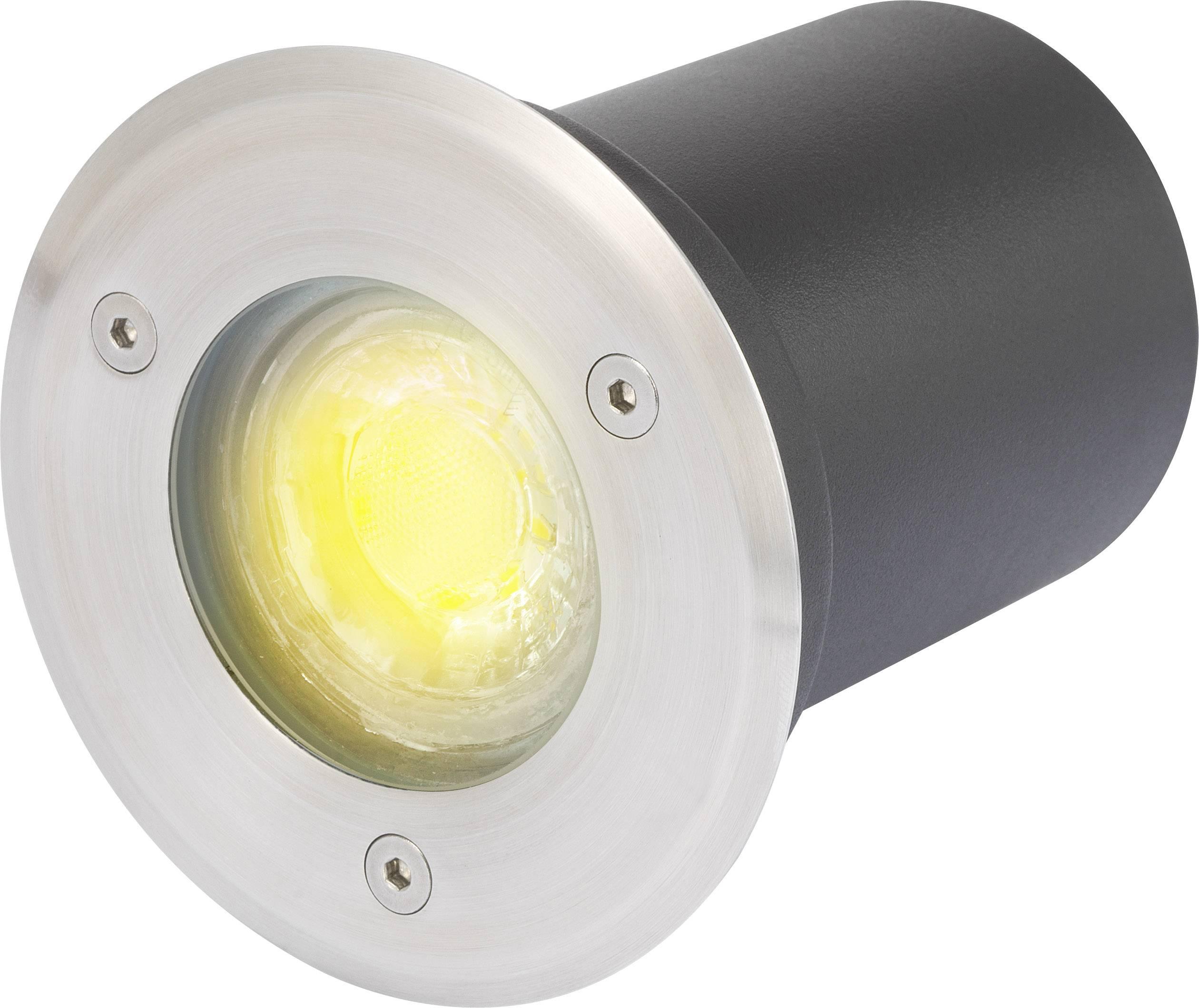 Vonkajšie vstavané LED osvetlenie Polarlite 3.5 W, čierna