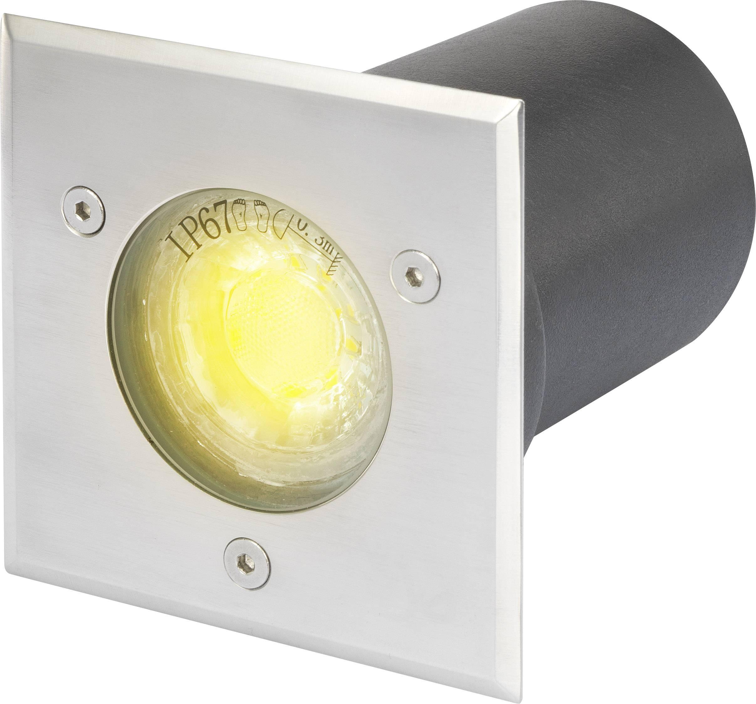 Vonkajšie vstavané LED osvetlenie Polarlite 3 W, čierna