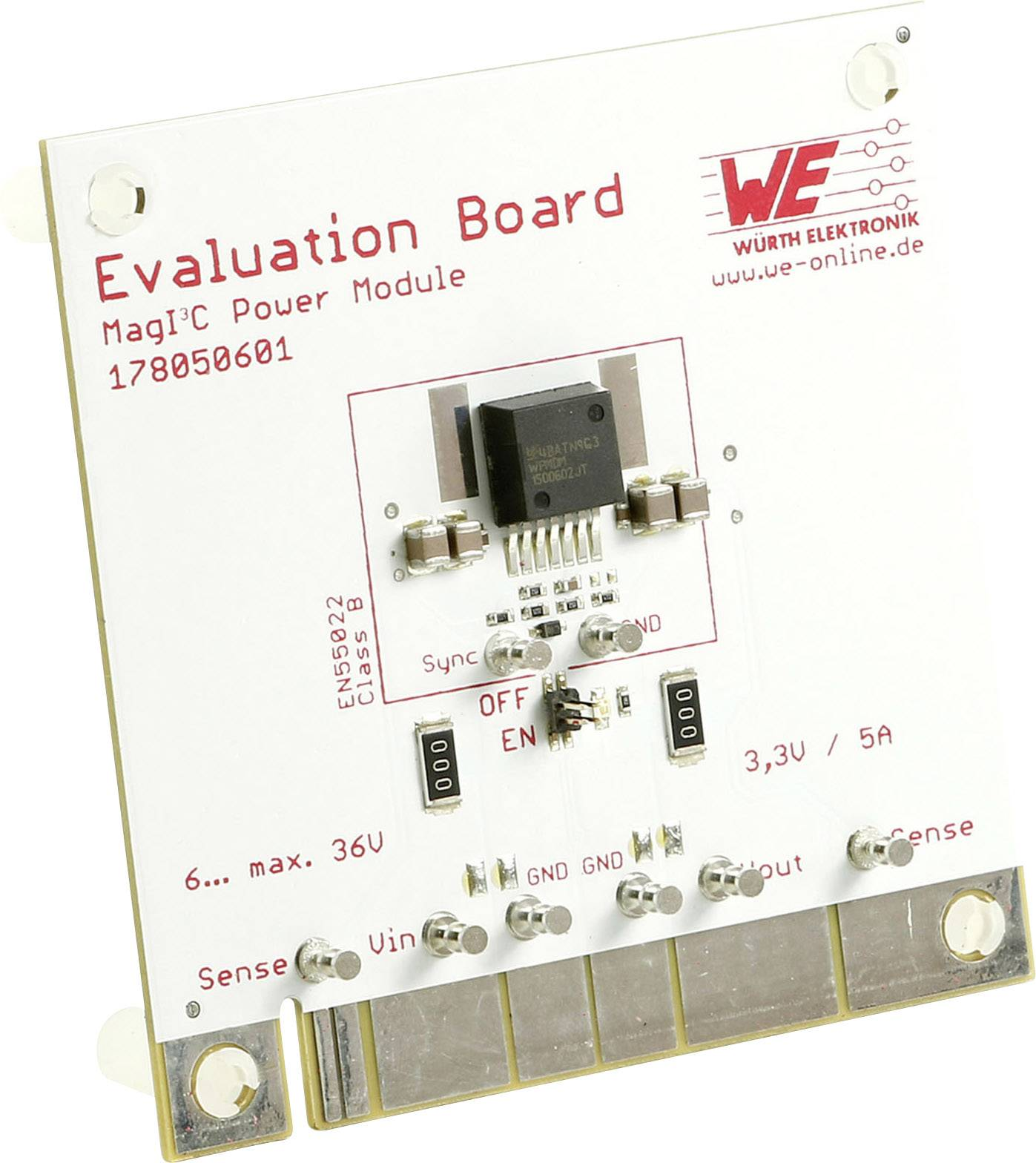 Vyhodnocovací deska Würth Elektronik WPMDH1302401