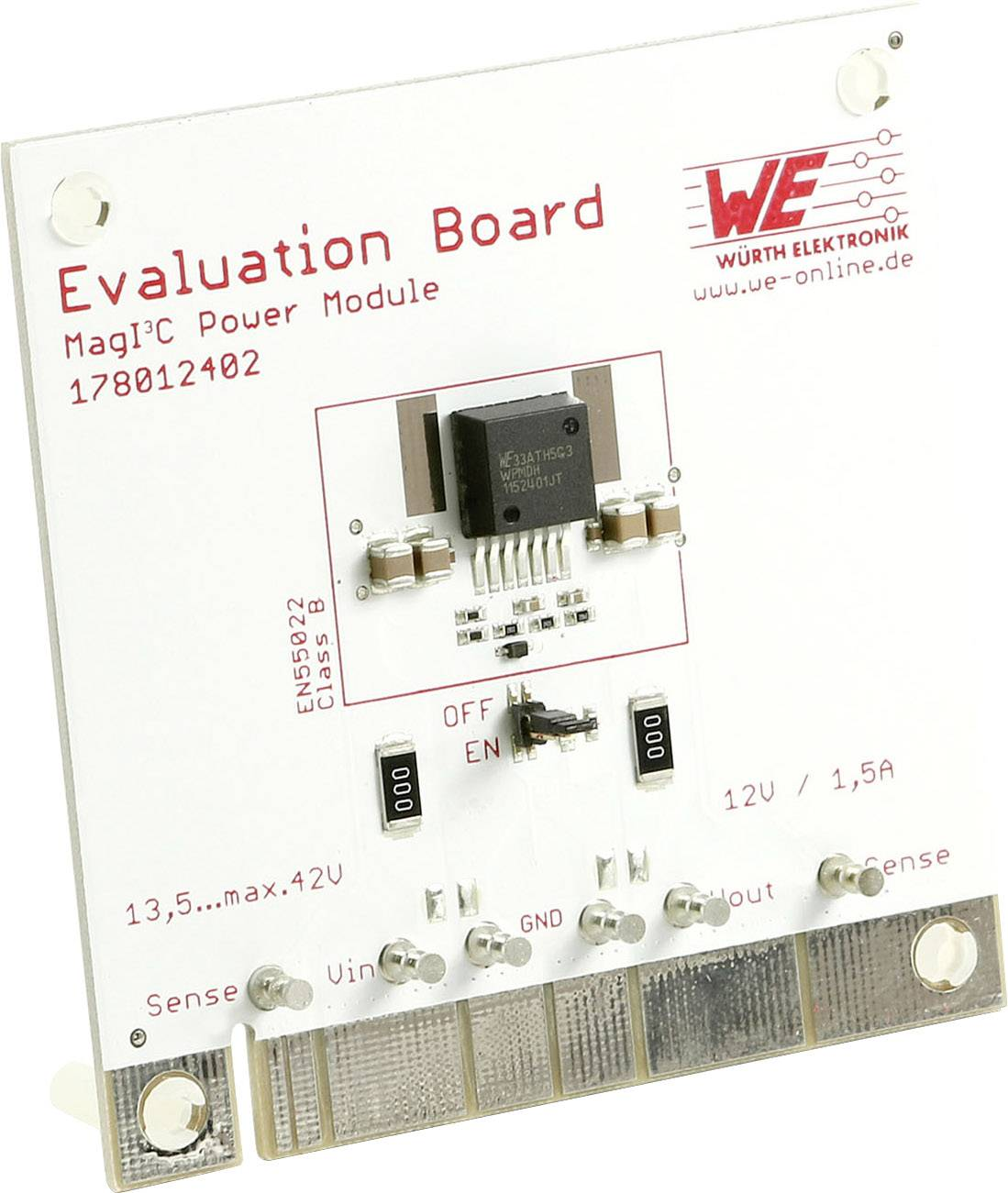 Vyhodnocovací deska Würth Elektronik WPMDH1152401