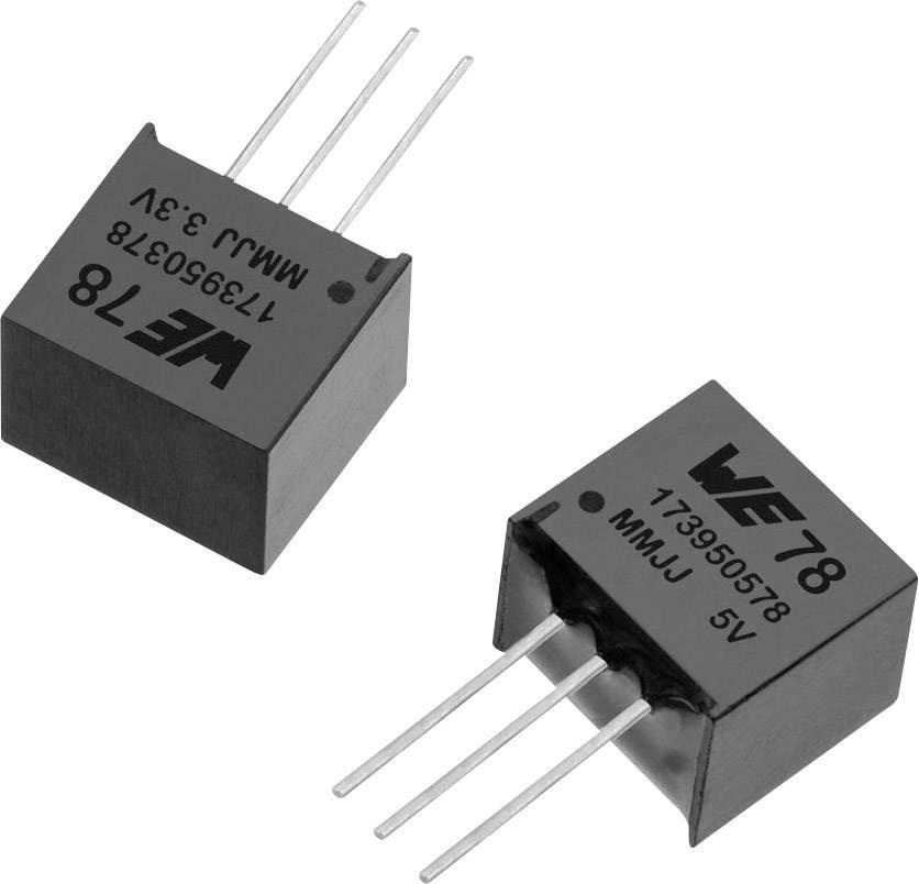 DC/DC měnič napětí, SMD Würth Elektronik 173950578, 5 V/DC, 0.5 A, počet výstupů 1 x