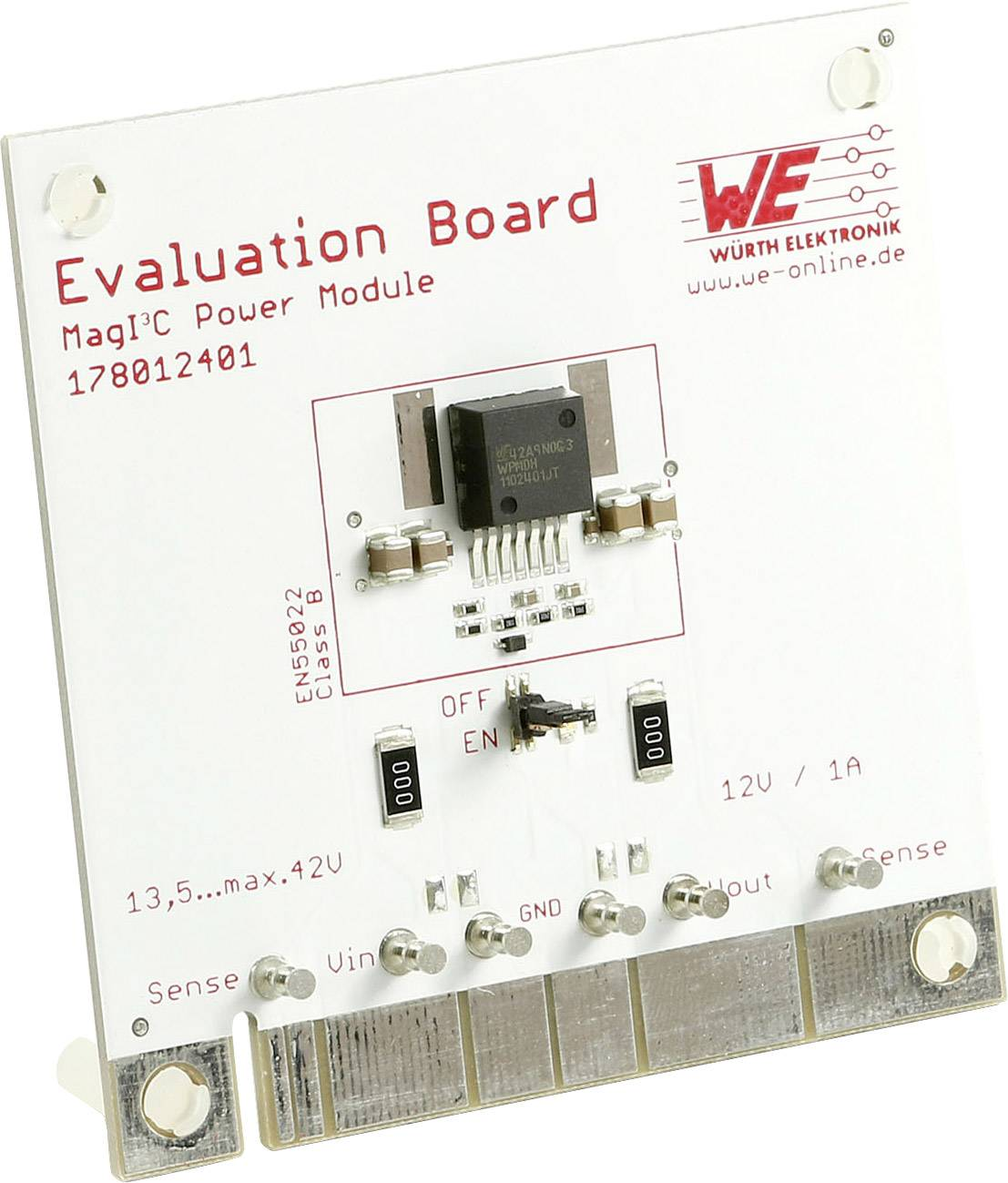 Vyhodnocovací deska Würth Elektronik WPMDH1102401