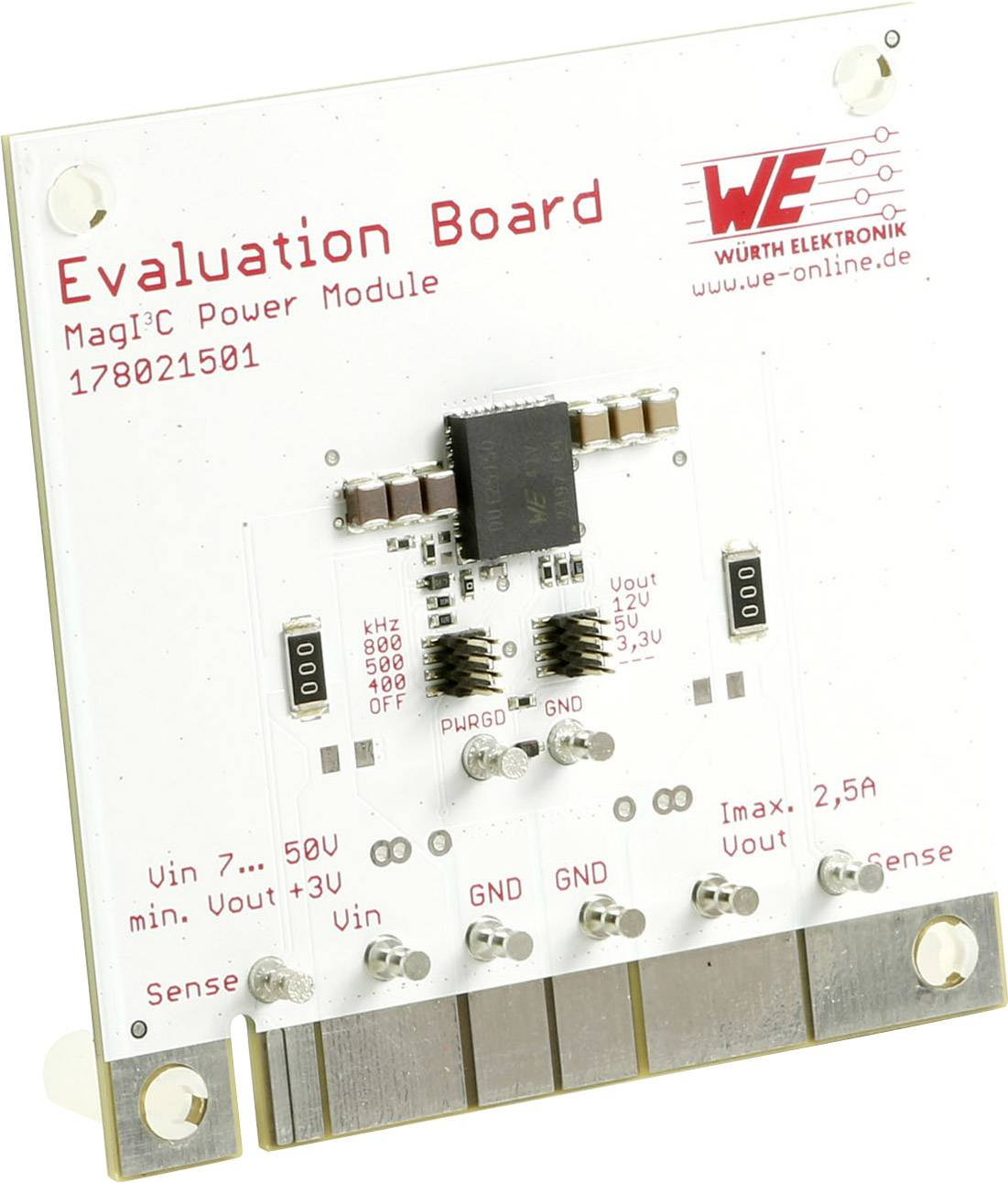 Vyhodnocovací deska Würth Elektronik WPMDU1251501