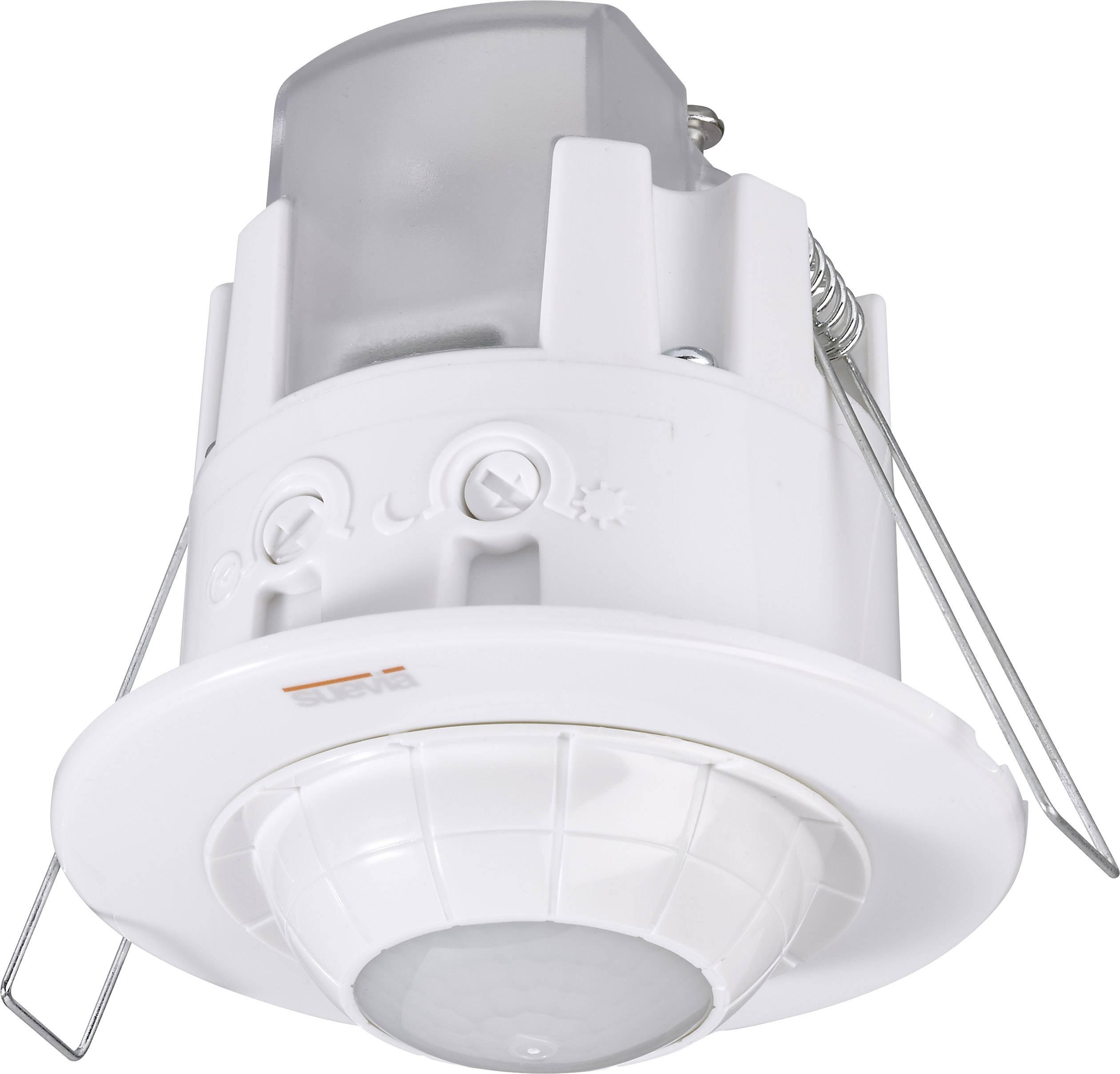 Detektor pohybu Suevia SU136012, 360 °, bílá, IP20