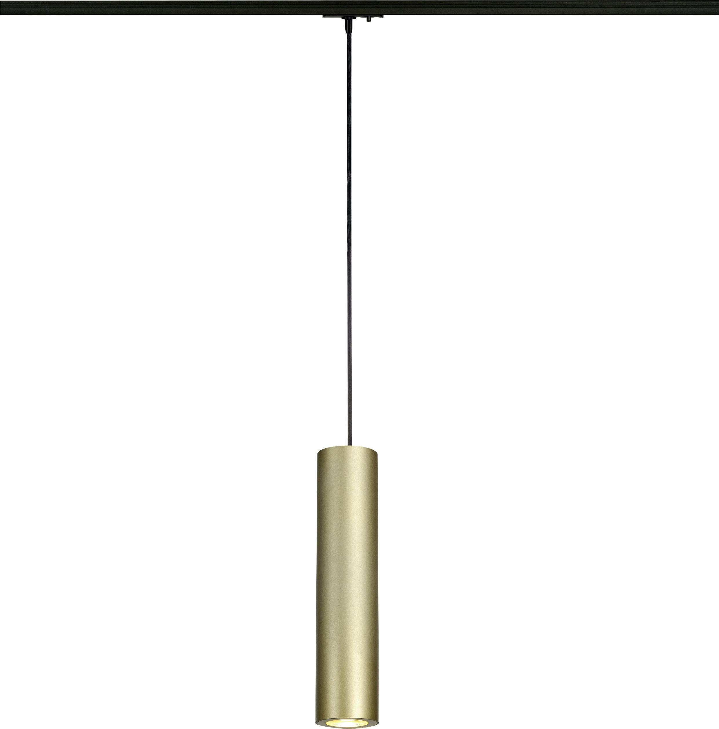 Svítidla do lištových systémů (230 V) - SLV Enola, GU10, 1fázové, 50 W, mosaz, černá