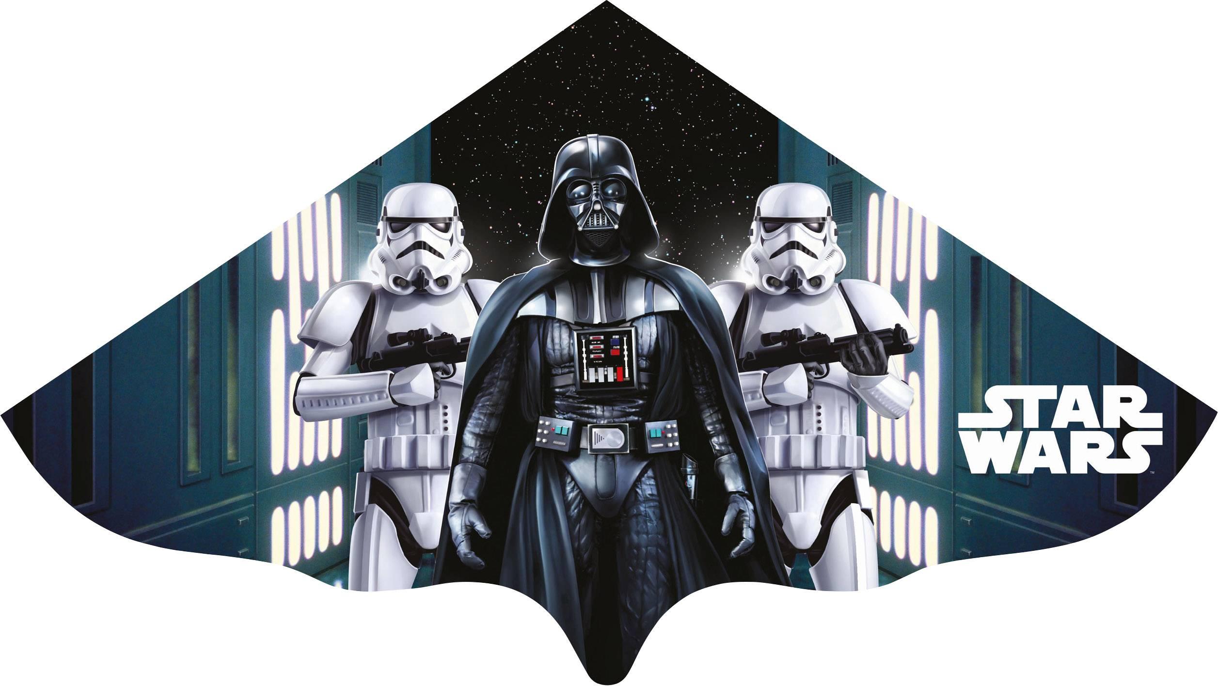 Dětský drak Star Wars Vader, Günther Flugspiele 1225, rozpětí 1150 mm