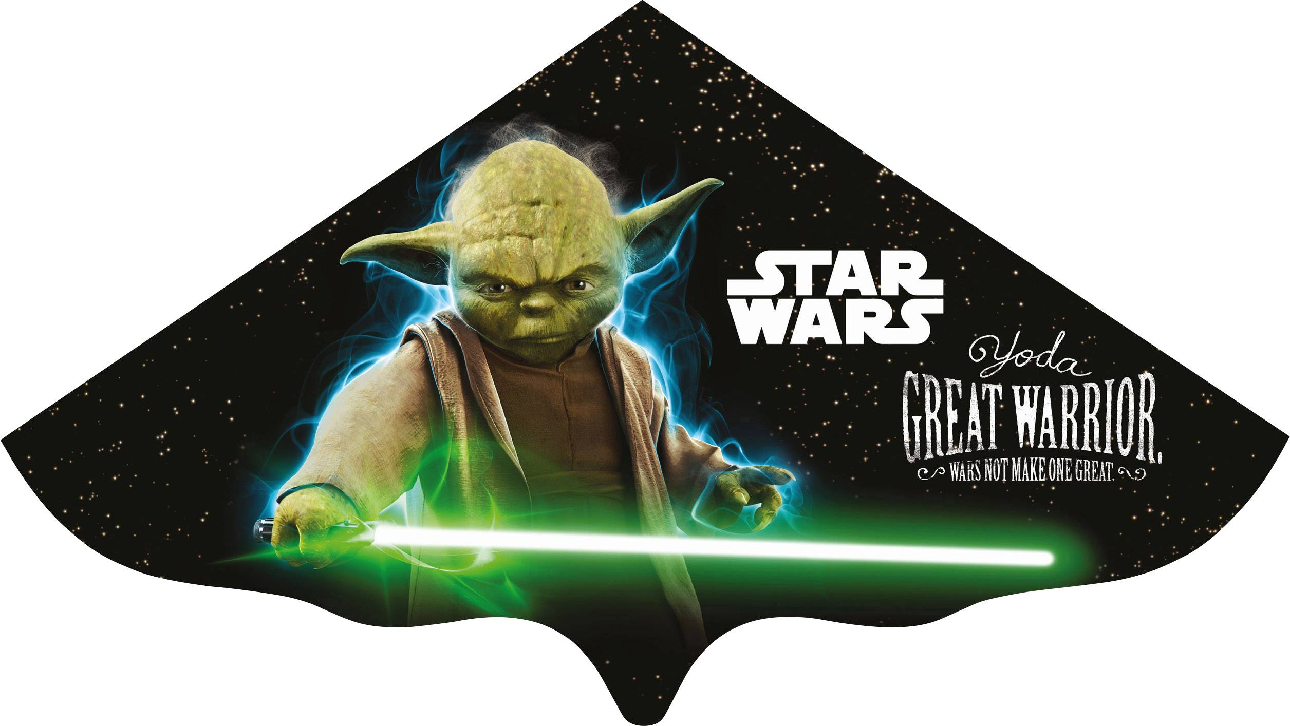 Šarkan pre deti Star Wars Yoda, Günther Flugspiele 1226, rozpätie 1150 mm