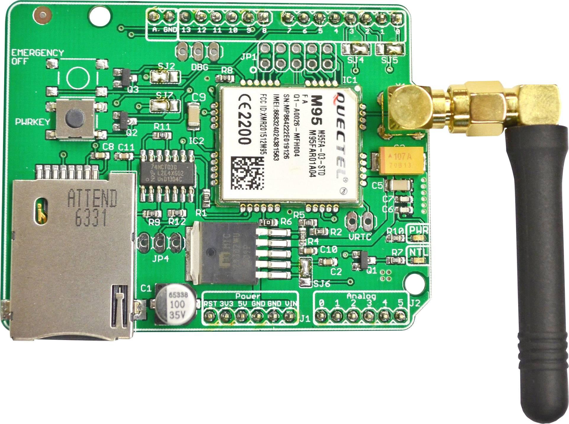 Rozširujúci modul SOS Electronic ARDUINO_M95FA-GSM/GPRS