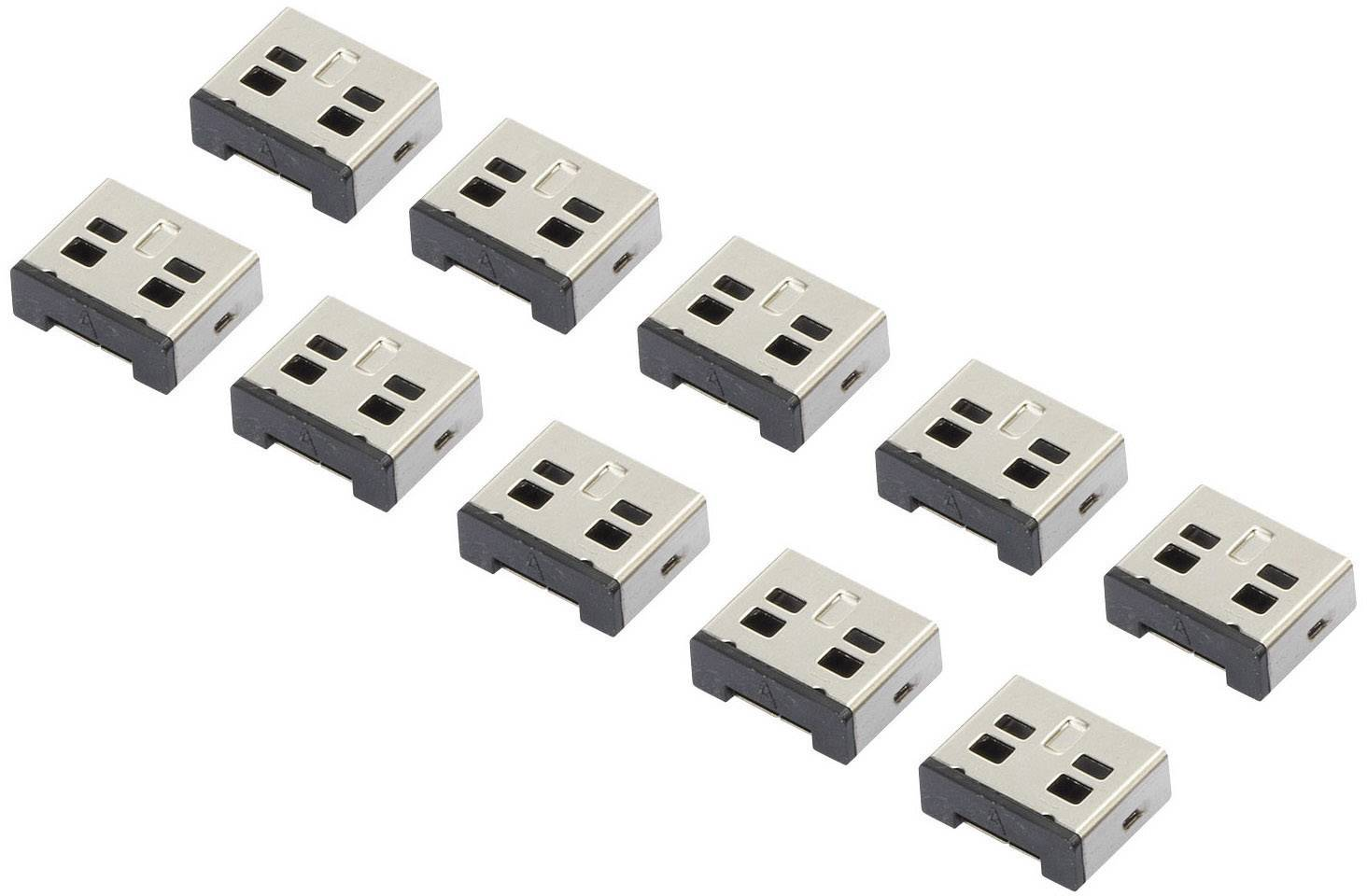 Bezpečnostná USB záslepka Renkforce RF-4463019, 10 ks