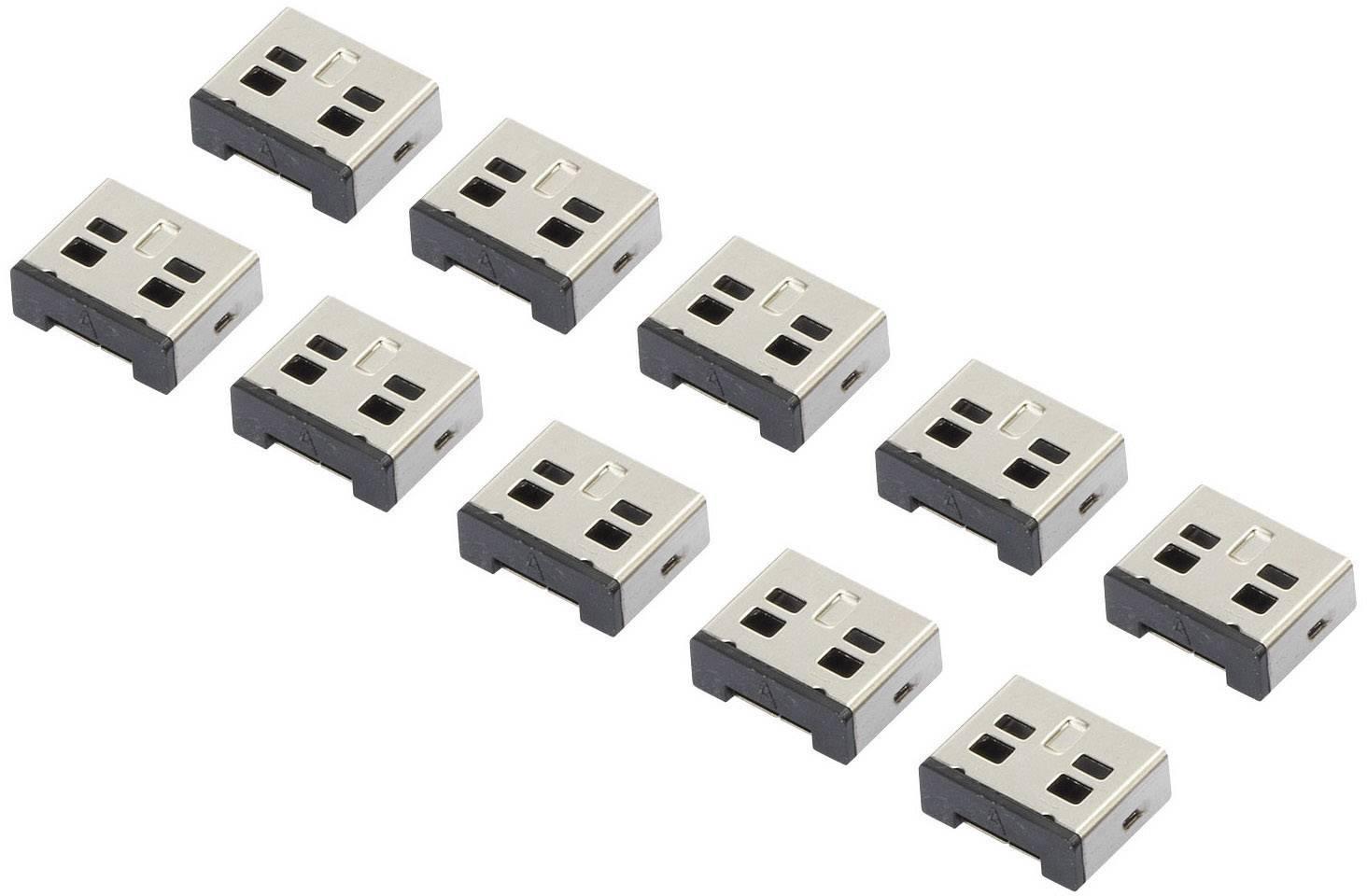 Bezpečnostní USB záslepka Renkforce RF-4463019, 10 ks